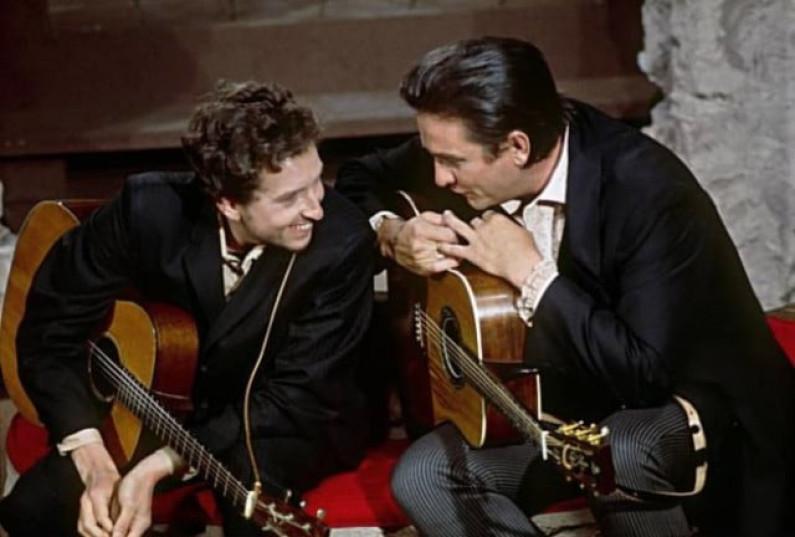 Johnny Cash & Bob Dylan – Recording