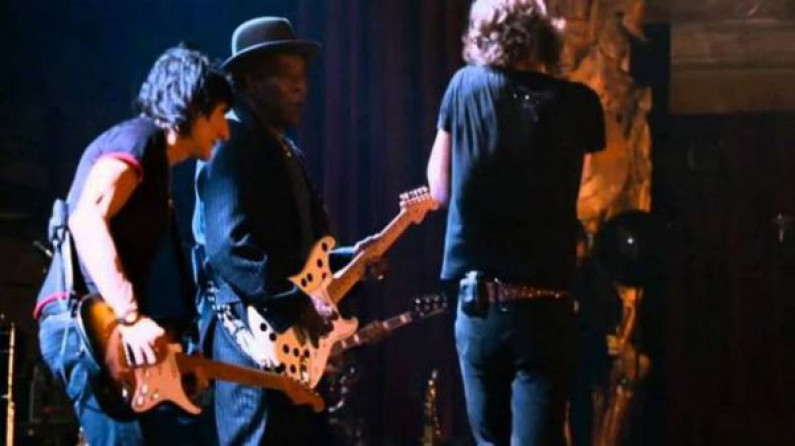Rolling Stones ft. Buddy Guy – champagne and Reefer