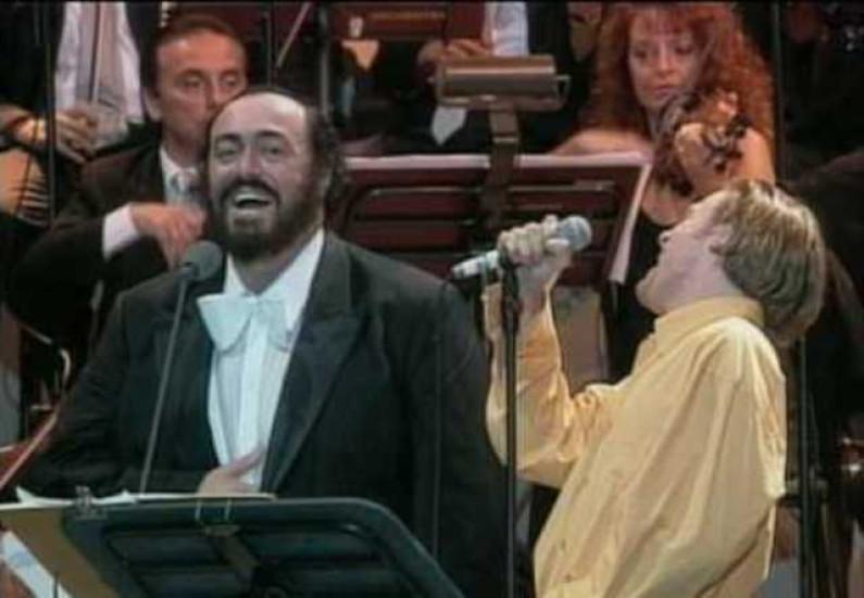 Bryan Adams & Luciano Pavarotti – 'O Sole Mio