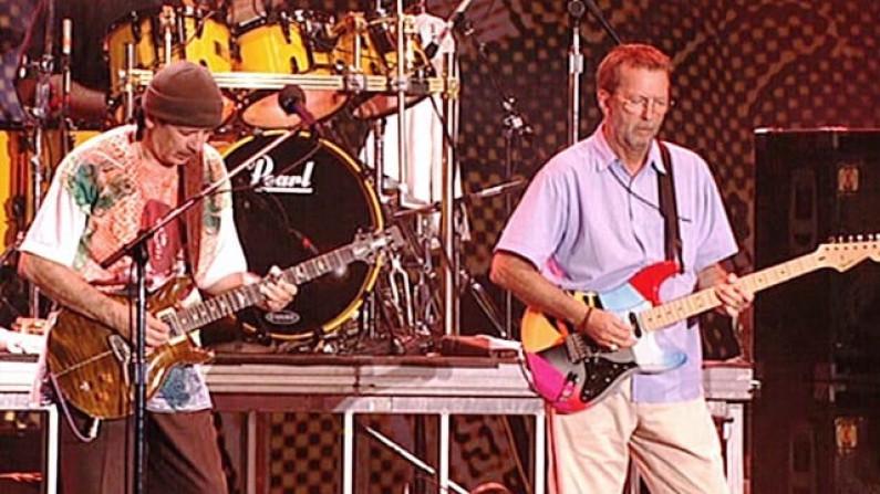 Carlos Santana & Eric Clapton – JinGo