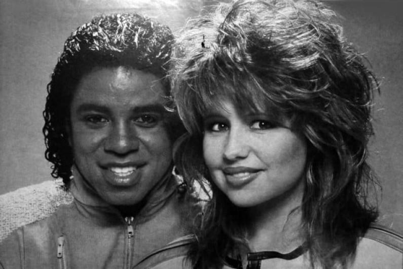 Jermaine Jackson & Pia Zadora – When The Rain Begins to Fall