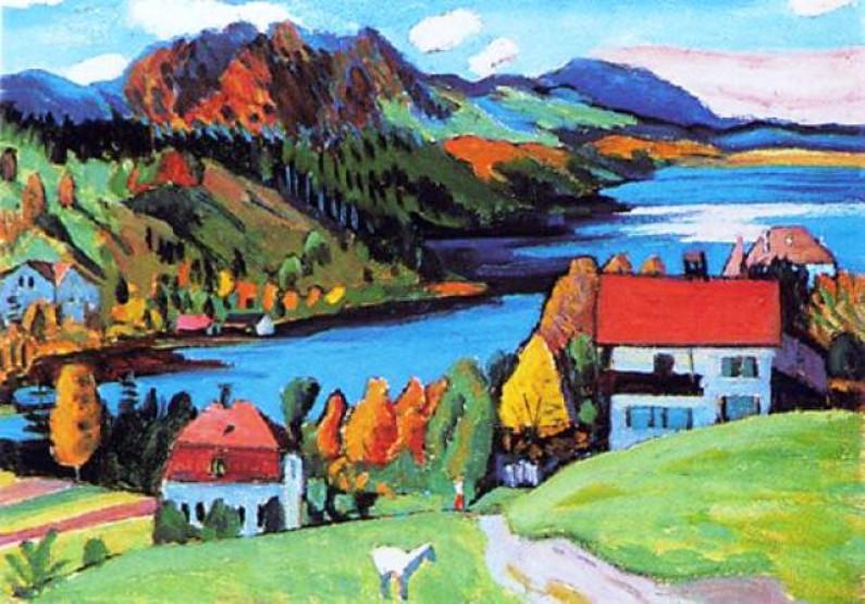 Gabriele Munter – Expressionist Painter