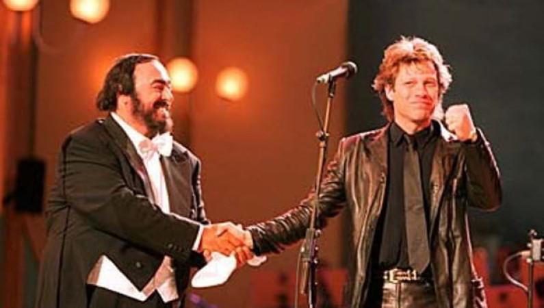 Jon Bon Jovi & Pavarotti – Let it Rain