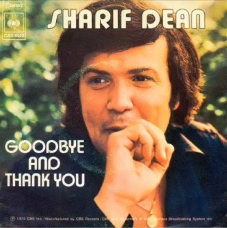 Sharif Dean – Goodbye and thank you