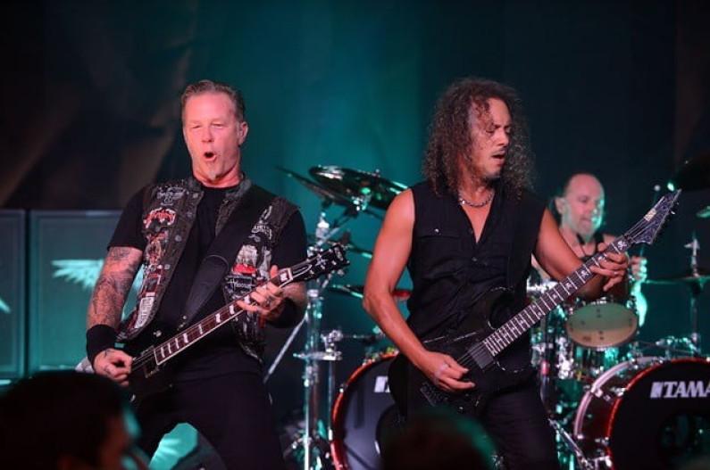 Metallica – Smoke on the water