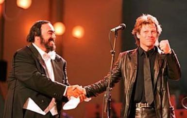 Bon Jovi & Pavarotti – Let it Rain