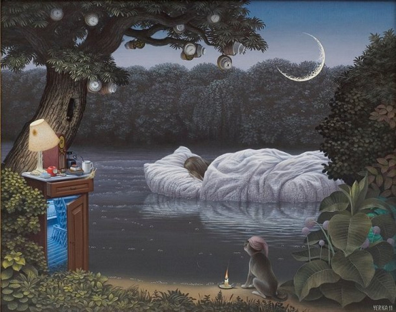 Jacek Yerka – Surrealist painter