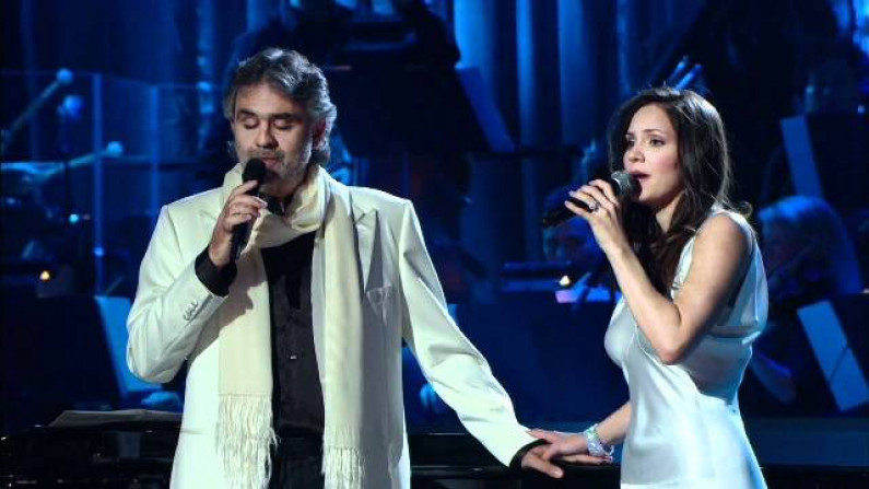 Andrea Bocelli and Katharine Mcphee – The prayer