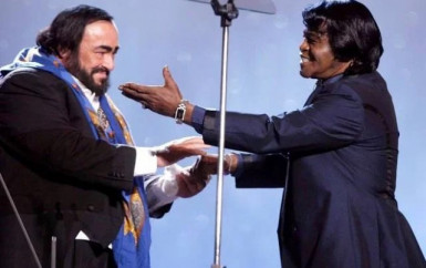 Luciano Pavarotti and James Brown – It's a Man's World