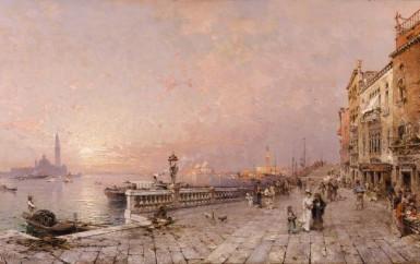 Franz Richard Unterberger – Austrian painter